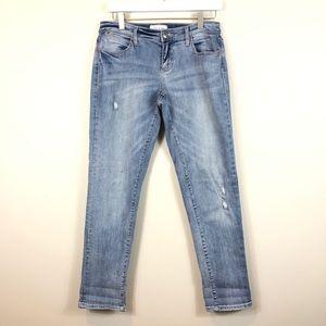 Lila Ryan Light Wash Hayes Straight Jeans 27